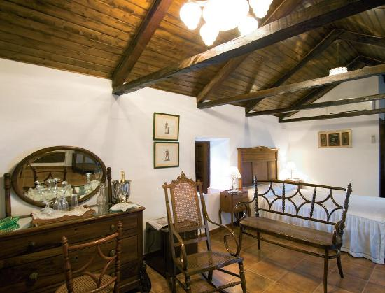 Casa Rural Tia Pilar: Las vigas