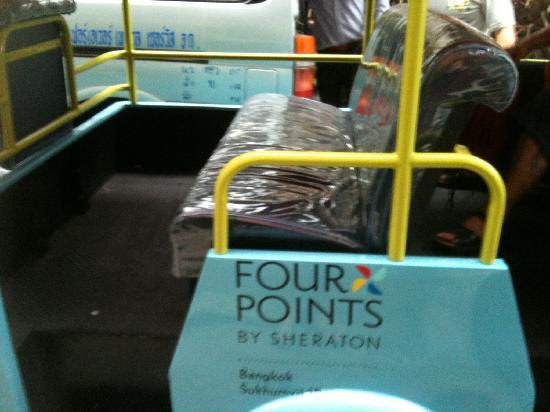 โฟร์พอยท์บายเชอราตันกรุงเทพ, สุขุมวิท 15: hotel tuktuk