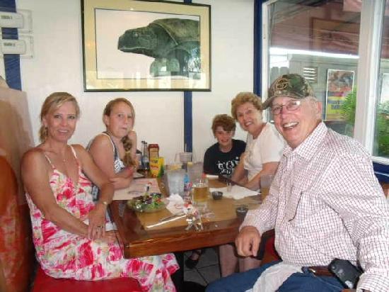 New England Fish Market & Restaurant: Family dinner