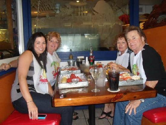 New England Fish Market & Restaurant: Yolanda's birthday