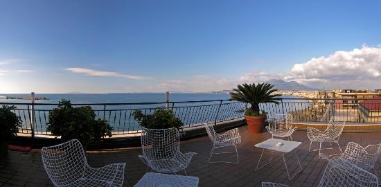 Hotel Stabia: Terrazza