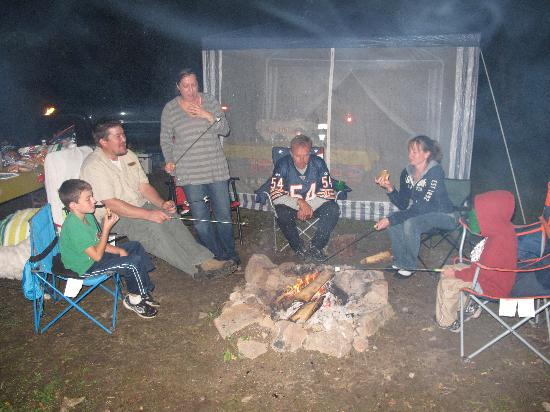 "Wheeler's Campground: the crew of ""camp awesome"""