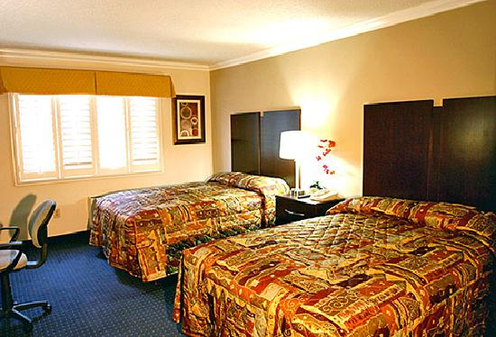 Motel 6 Van Nuys: Guest Room 2 Beds