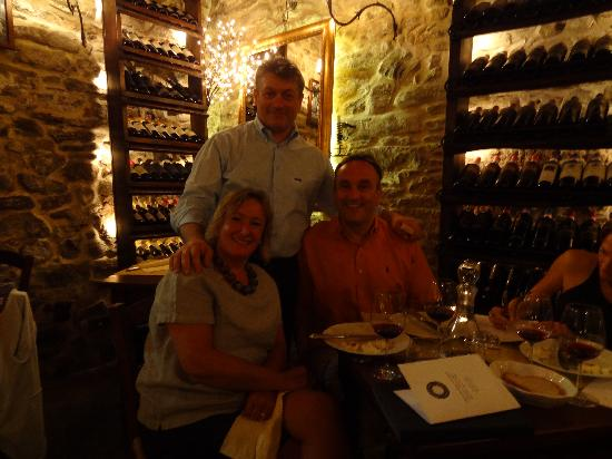 Cheese & Cooking School on Tuscan : Romano was great fun