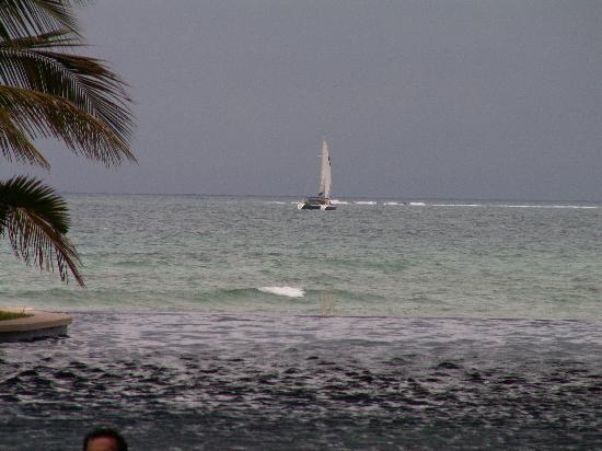 Secrets Silversands Riviera Cancun: Storm approaching