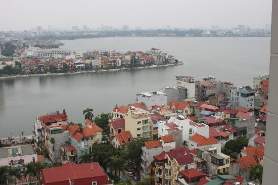 Fraser Suites Hanoi: View from the apartment