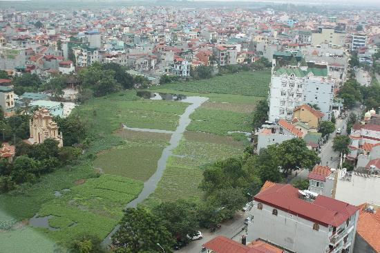 Fraser Suites Hanoi: View from our apartment