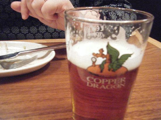Copper Dragon Bar Bistro: beer