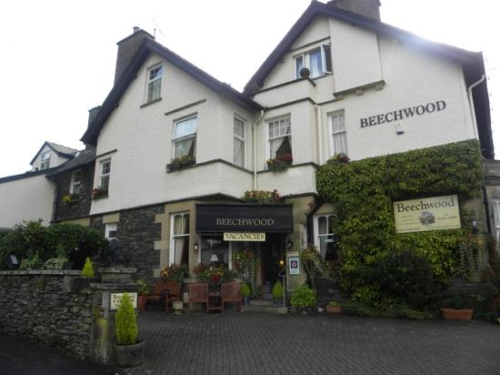 Beechwood Guest House : front of Beechwood property in Bowness on Windermere