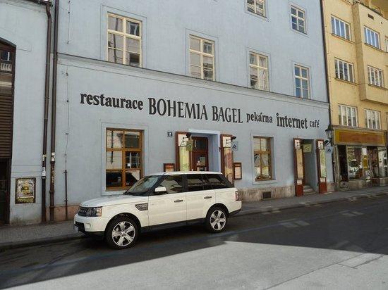 Bohemia Bagel Masna : Street view
