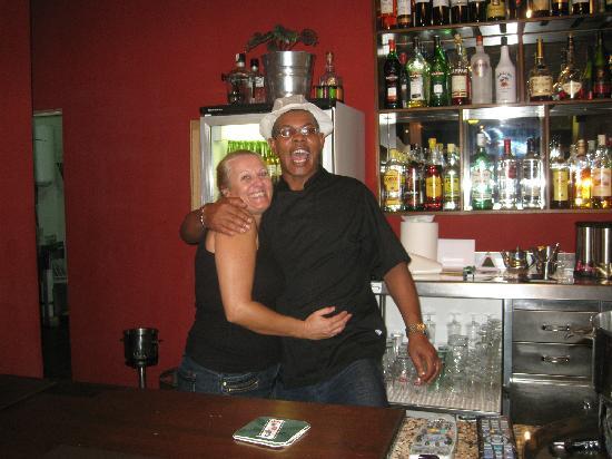 TJs Caribbean Tapas Bar : Tony & Jeanette
