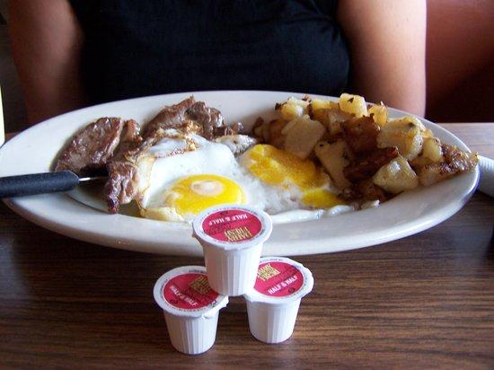 Vancostas: Steak and Eggs breakfast