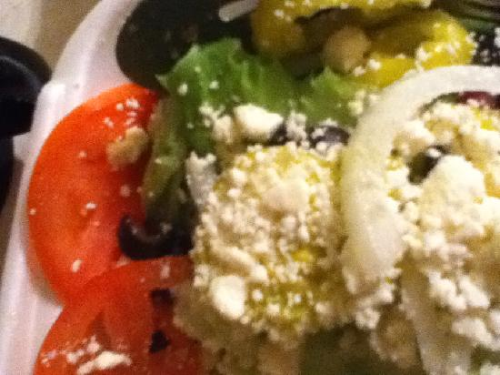 Tony's Pizzalicious: greek salad