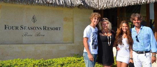 Four Seasons Resort Bora Bora: Upon arrival in paradise
