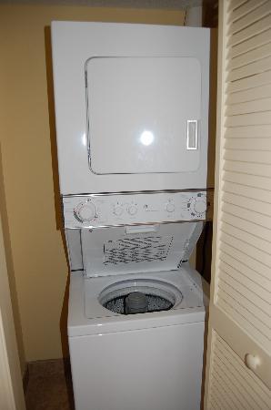 Washer & dryer - Picture of Dunes Village Resort, Myrtle Beach ...