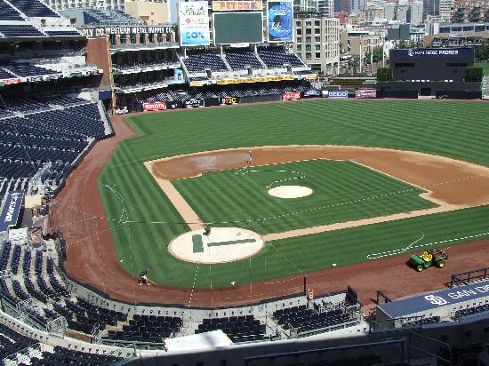 Petco Park : View from Journalist box