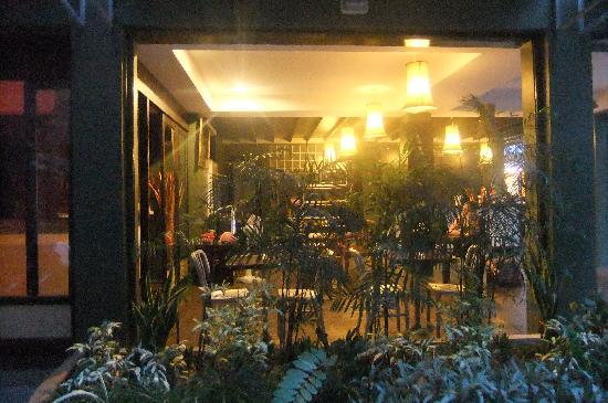 T Terrace: reception area