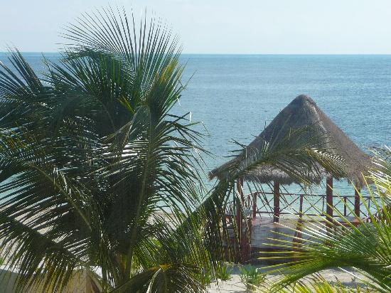 Beloved Playa Mujeres: The view from our room (Consentida 3)