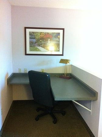 Holiday Inn Express Vadnais Heights: Desk Area