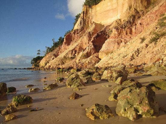 Pousada Aquarela: Private beach near pousada