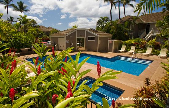 One of Two Swimming Pools At Wailea Grand Champions Villas