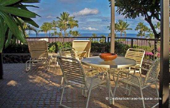 Wailea Elua Village: Morning on the Lanai