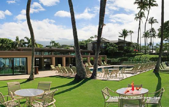 Wailea Elua Village Oceanside Pool and Pavilion