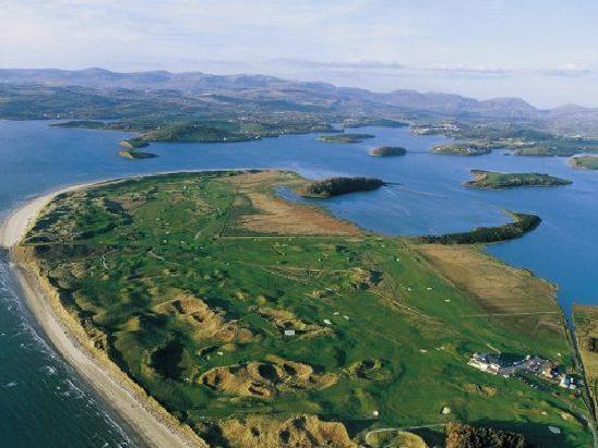 Bayside B&B: Donegal Golf Club