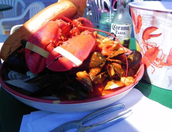 Rising Tide Restaurant: Lobster stew