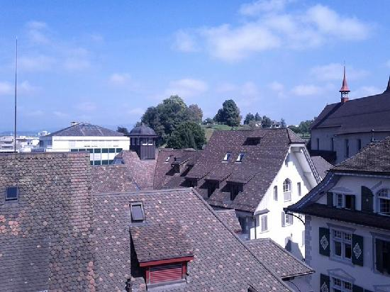 City-Hotel Ochsen Zug: The view