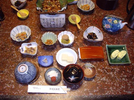 Miboro Ryokan: これが朝食です。