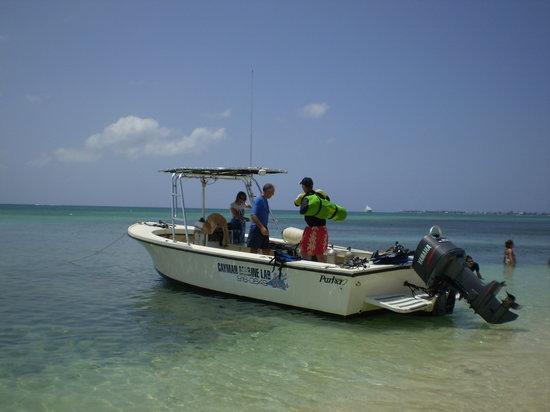 Cayman Marine Lab boat