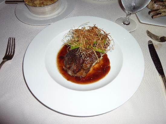 Fairmont Mayakoba: Braised short ribs at El Puerto