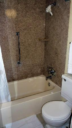 Ramada Pikesville/Baltimore North: Bathroom room 236