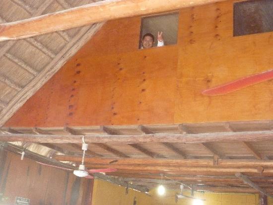 View of the second floor storage room inside of El Capitan Mono