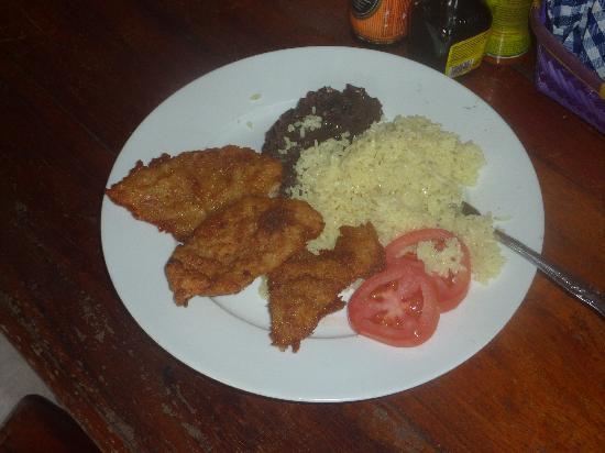 A dish from El Capitan Mono