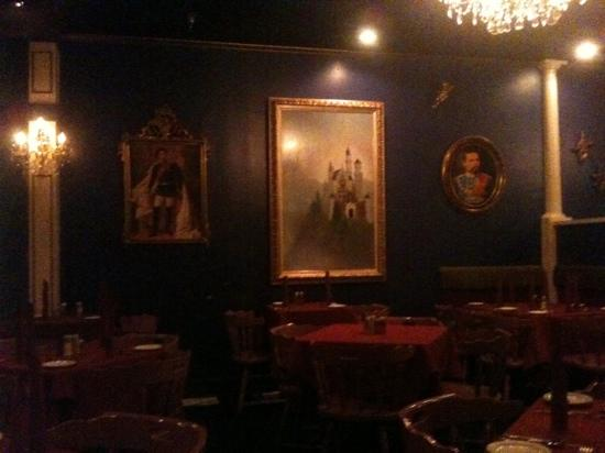 Farragut, TN: interior of Restaurant Linderhof