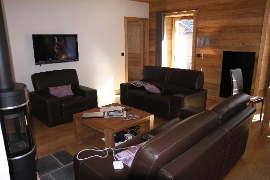 Residence Quartz Mont Blanc : Living room