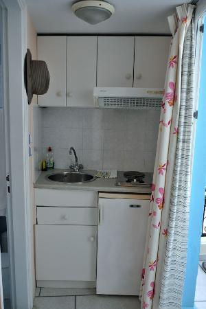 Pension Sofi: Efficient little kitchenette