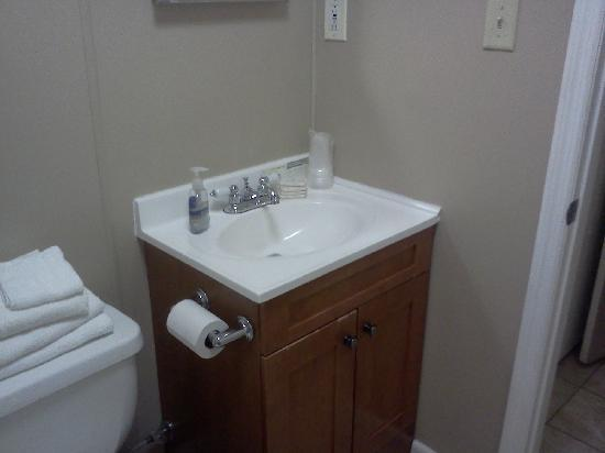 Green Cove Springs Inn : Upgraded athroom vanity