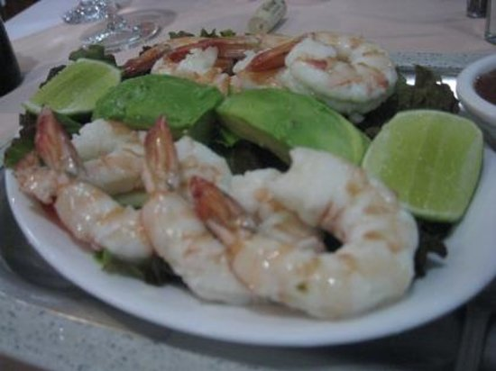 Escazú, Costa Rica: Shrimp Appetizer