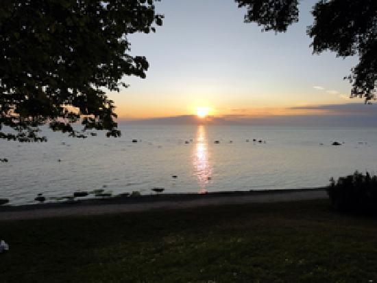 Hotel Stenugnen: Solnedgang på Gotland
