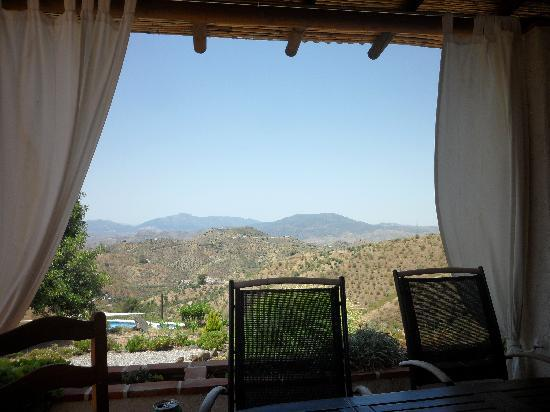 Las Nuevas Alora: View from the terrace of the 2 bed Casa