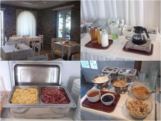 Vanilla Hotel: a small sample of our breakfast