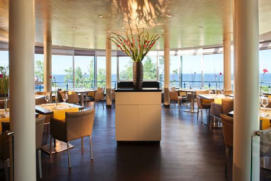 Strandhotel Ostseeblick: Gourmetrestaurant Bernstein