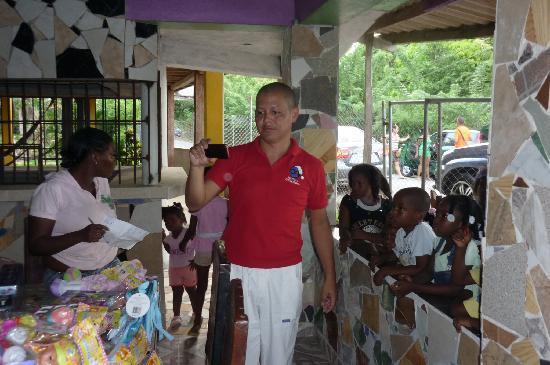 La Guayra, ปานามา: cordialidad en el trato