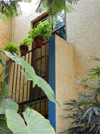 La Casita del Patio Verde: Patio of the Arbol room