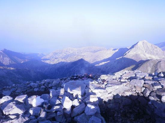 Ilaeira Mountain Resort : On our way to the highest top of Taygetus