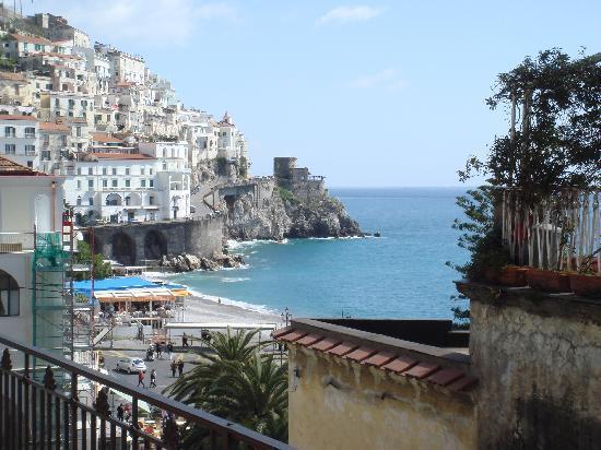 Residenza Pansa: panorama dalla terrazza
