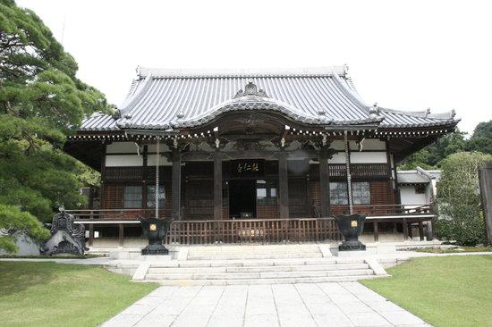 Hanno, Japón: 江戸時代徳川家ゆかりの能仁寺本堂